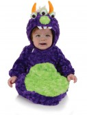 Infant 3 Eyed Monster Bunting, halloween costume (Infant 3 Eyed Monster Bunting)