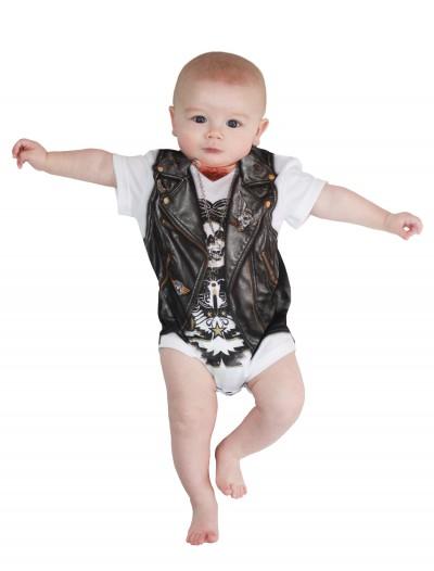 Infant Biker Baby T-Shirt Costume, halloween costume (Infant Biker Baby T-Shirt Costume)