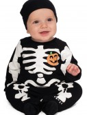 Infant Black Skeleton Costume, halloween costume (Infant Black Skeleton Costume)