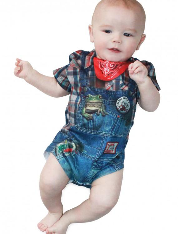 Infant Boy Hillbilly Costume T-Shirt, halloween costume (Infant Boy Hillbilly Costume T-Shirt)