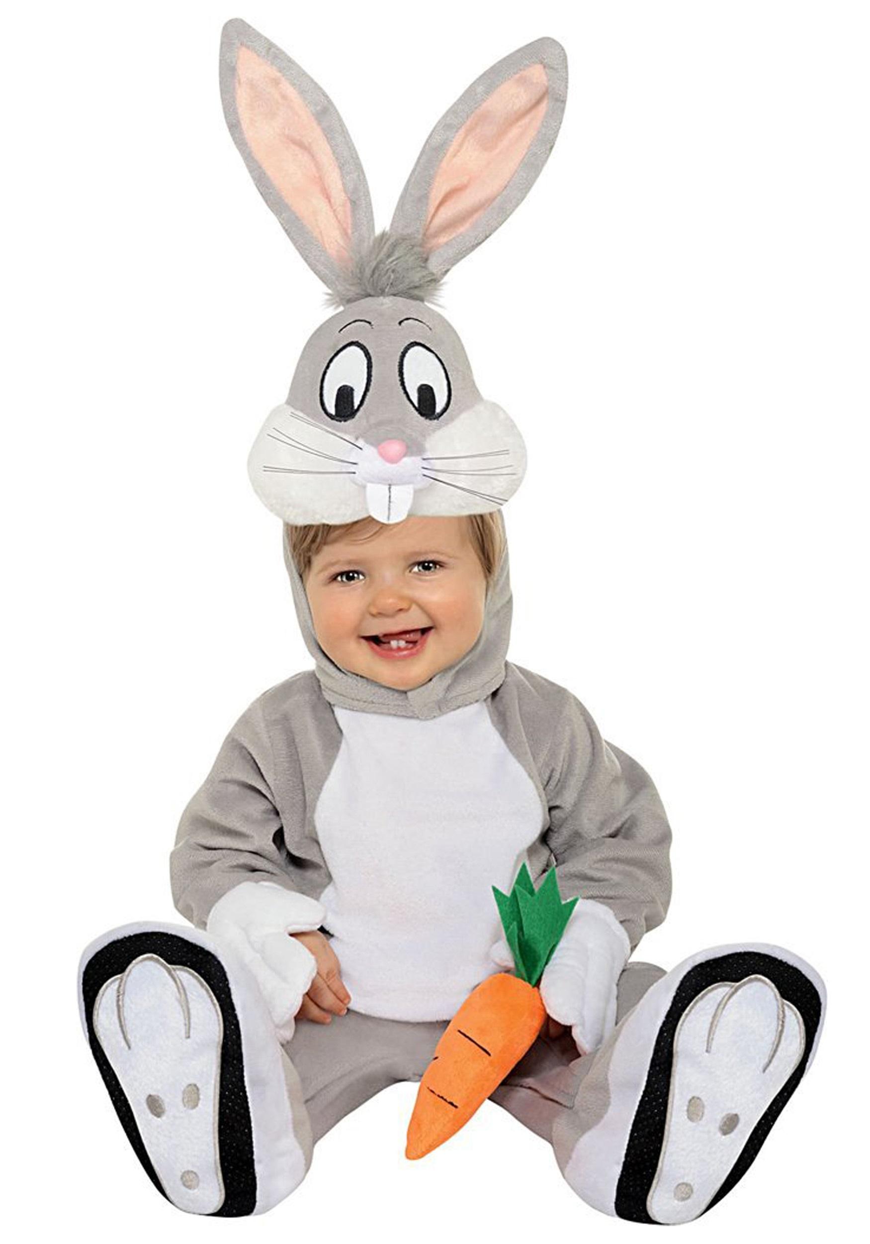 infant bugs bunny costume