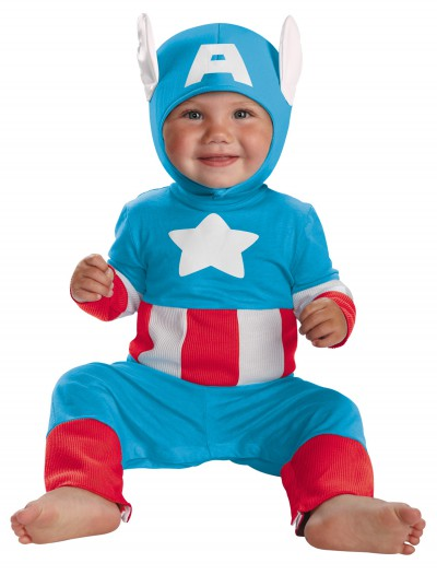 Infant Captain America Kutie Costume, halloween costume (Infant Captain America Kutie Costume)