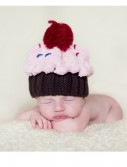 Infant Cupcake Sprinkled with Love Hat, halloween costume (Infant Cupcake Sprinkled with Love Hat)
