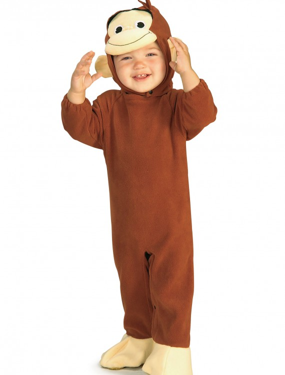 Infant Curious George Costume, halloween costume (Infant Curious George Costume)