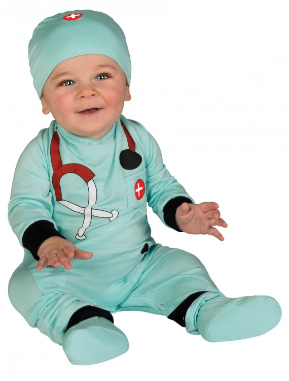 Infant Doctor Sleeper, halloween costume (Infant Doctor Sleeper)