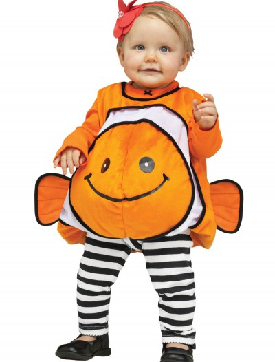 Infant Giddy Clownfish Costume, halloween costume (Infant Giddy Clownfish Costume)