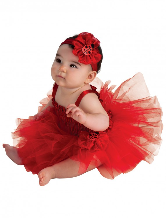 Infant Ladybug Tutu Dress, halloween costume (Infant Ladybug Tutu Dress)