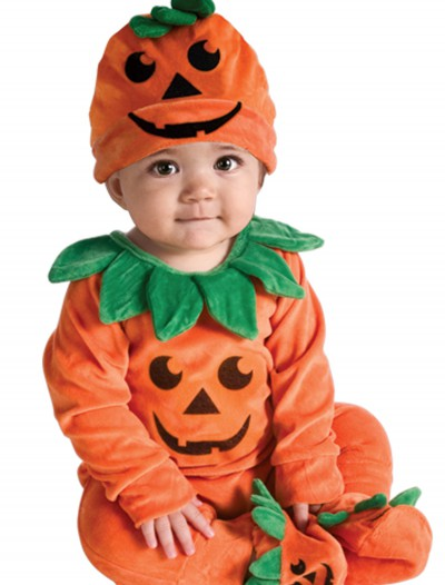 Infant Li'l Pumpkin Onesie, halloween costume (Infant Li'l Pumpkin Onesie)