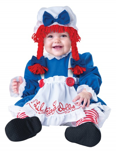 Infant Li'l Rag Doll Costume, halloween costume (Infant Li'l Rag Doll Costume)