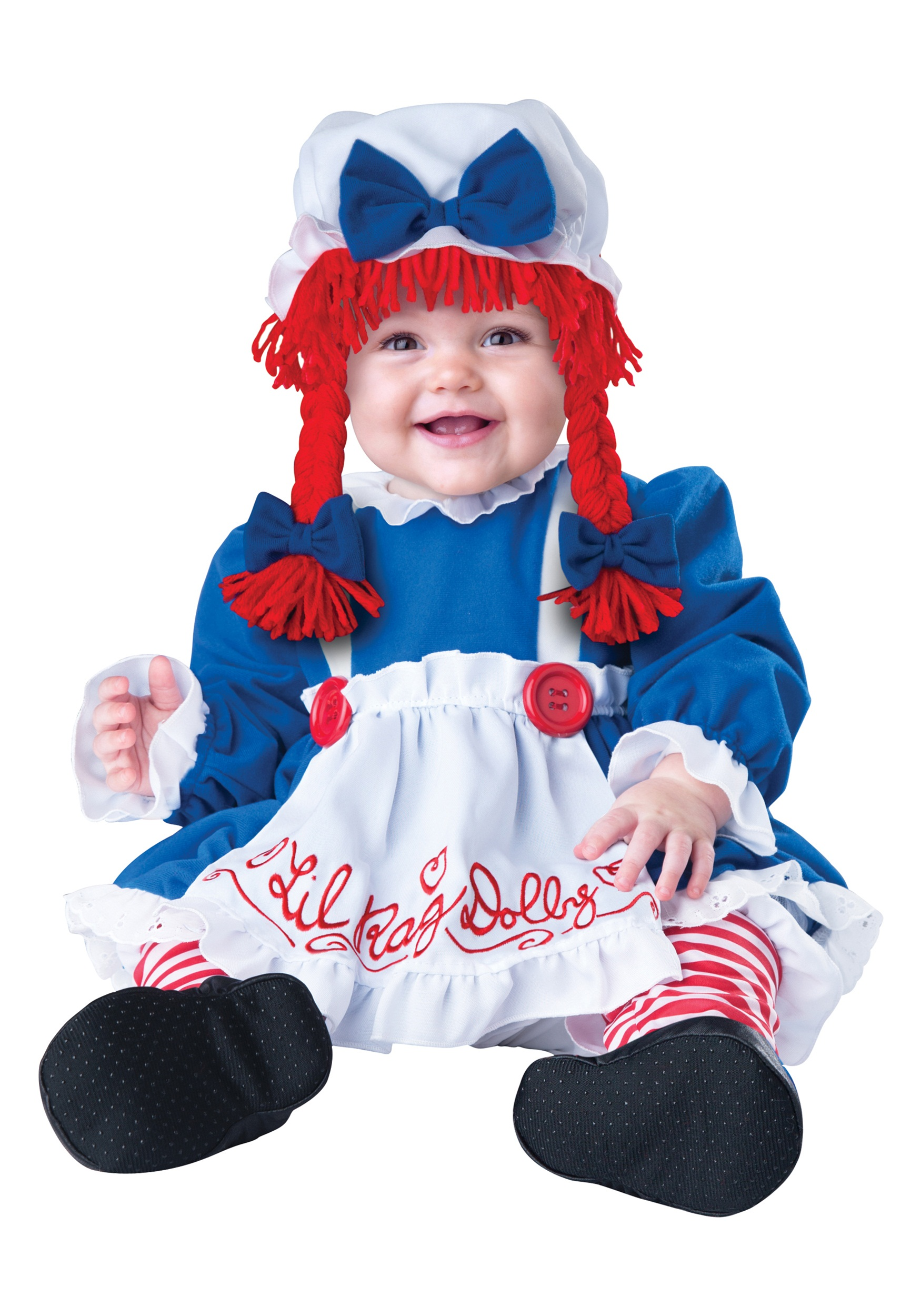 Infant Liu0027l Rag Doll Costume  sc 1 st  Halloween Costumes & Infant Liu0027l Rag Doll Costume - Halloween Costumes
