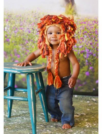 Infant Lion Hat w/ Full Mane, halloween costume (Infant Lion Hat w/ Full Mane)