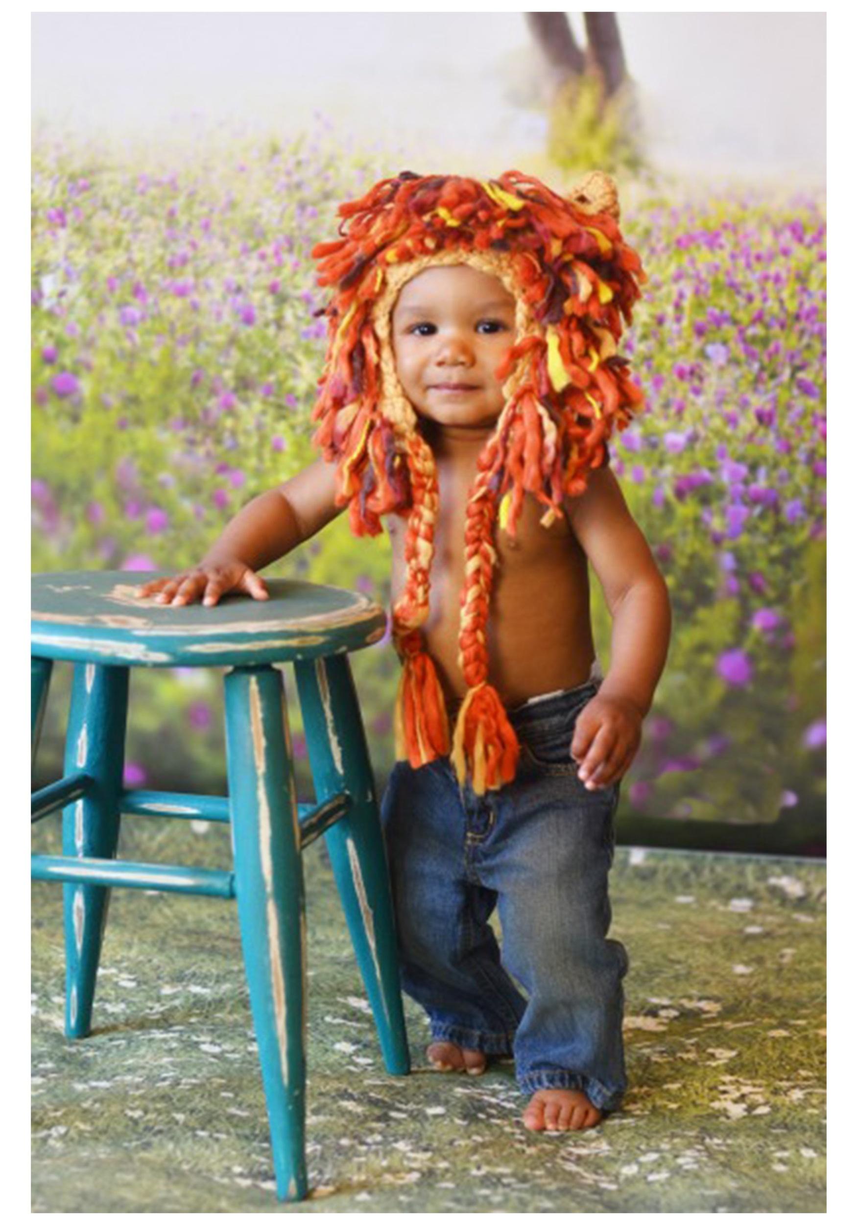 Infant Lion Hat w/ Full Mane  sc 1 st  Halloween Costumes & Infant Lion Hat w/ Full Mane - Halloween Costumes