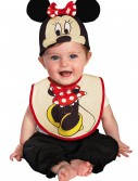 Infant Minnie Mouse Hat and Bib Set, halloween costume (Infant Minnie Mouse Hat and Bib Set)