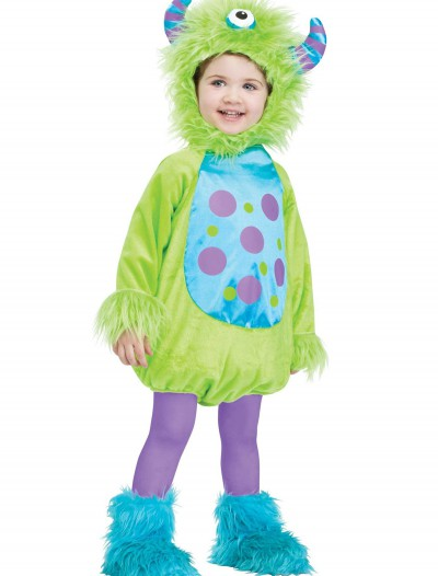 Infant Monster Baby Green Costume, halloween costume (Infant Monster Baby Green Costume)