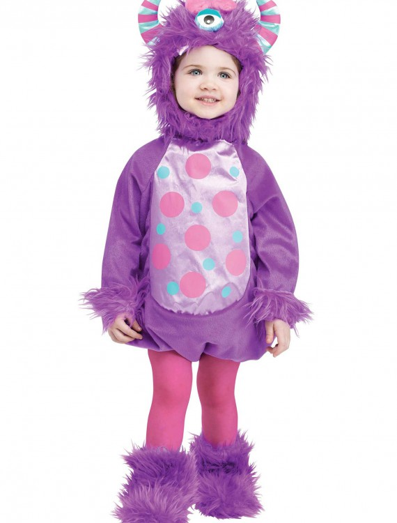 Infant Monster Baby Purple Costume, halloween costume (Infant Monster Baby Purple Costume)