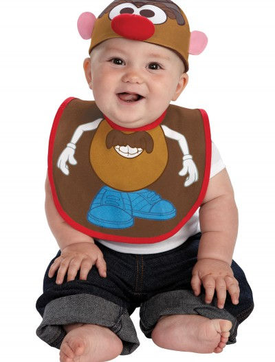 Infant Mr. Potato Hat and Bib Set, halloween costume (Infant Mr. Potato Hat and Bib Set)