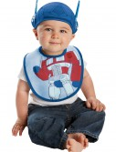 Infant Optimus Prime Hat and Bib Set, halloween costume (Infant Optimus Prime Hat and Bib Set)