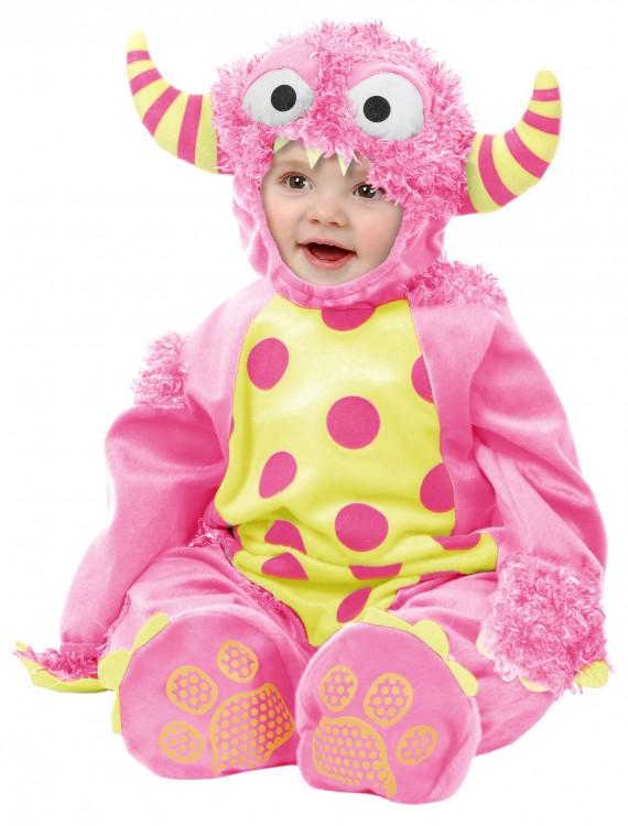 Infant Pink Mini Monster Costume, halloween costume (Infant Pink Mini Monster Costume)