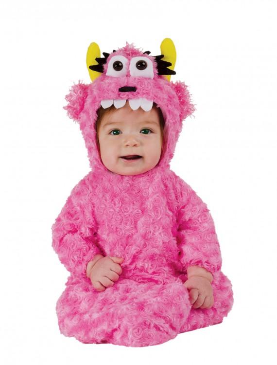 Infant Pink Monster Bunting, halloween costume (Infant Pink Monster Bunting)