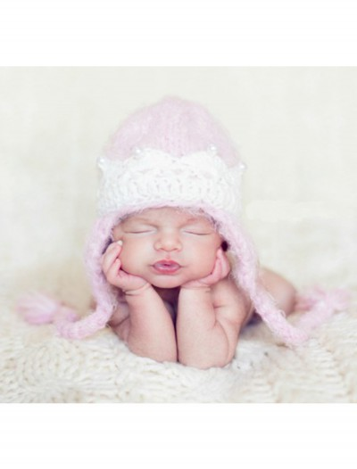 Infant Pink Princess Crown Hat, halloween costume (Infant Pink Princess Crown Hat)