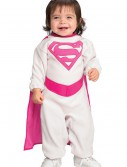 Infant Pink Supergirl Costume, halloween costume (Infant Pink Supergirl Costume)