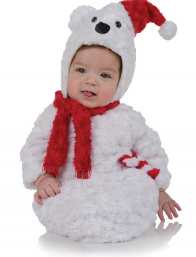 Infant Polar Bear Bunting, halloween costume (Infant Polar Bear Bunting)