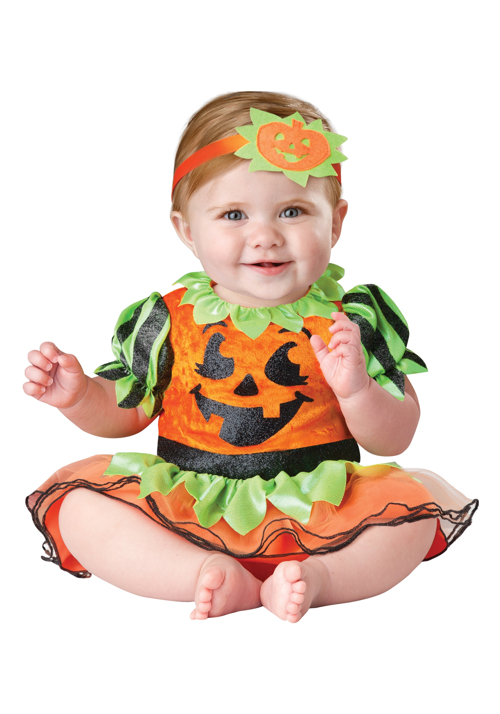 infant pumpkin patch princess costume - halloween costumes