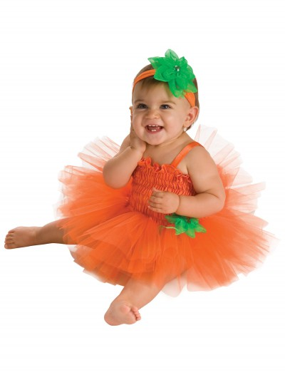 Infant Pumpkin Tutu Dress, halloween costume (Infant Pumpkin Tutu Dress)