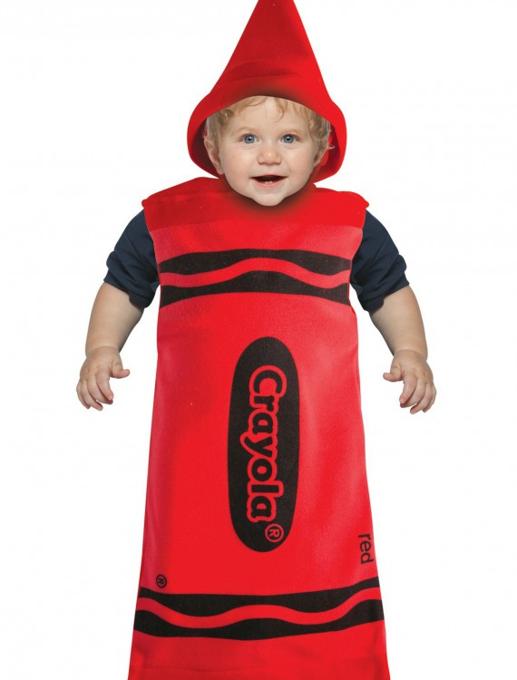 Infant Red Crayon Bunting, halloween costume (Infant Red Crayon Bunting)
