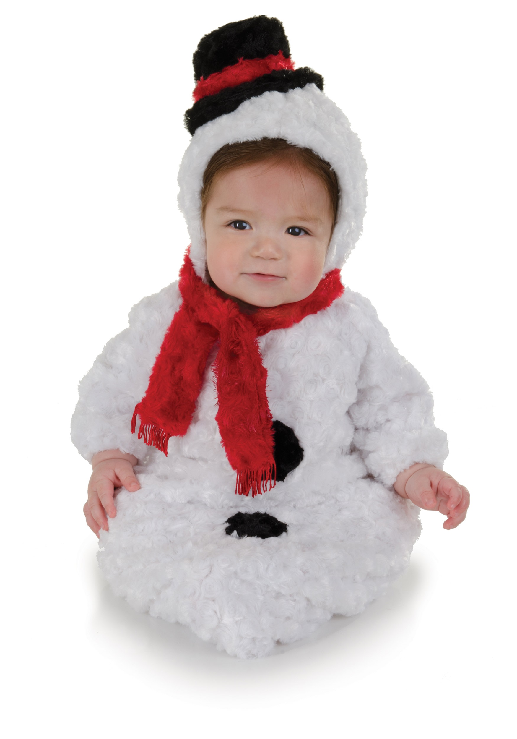 infant snowman bunting - halloween costumes