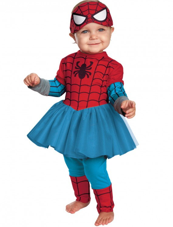 Infant Spider-Girl Cutie Costume, halloween costume (Infant Spider-Girl Cutie Costume)