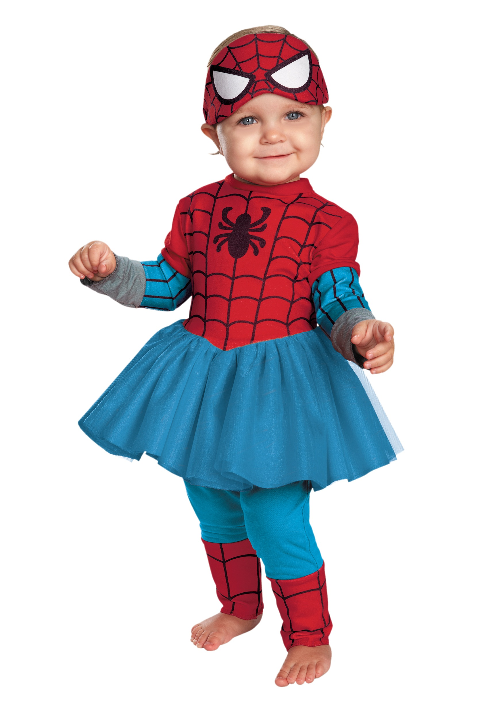 infant spider girl cutie costume