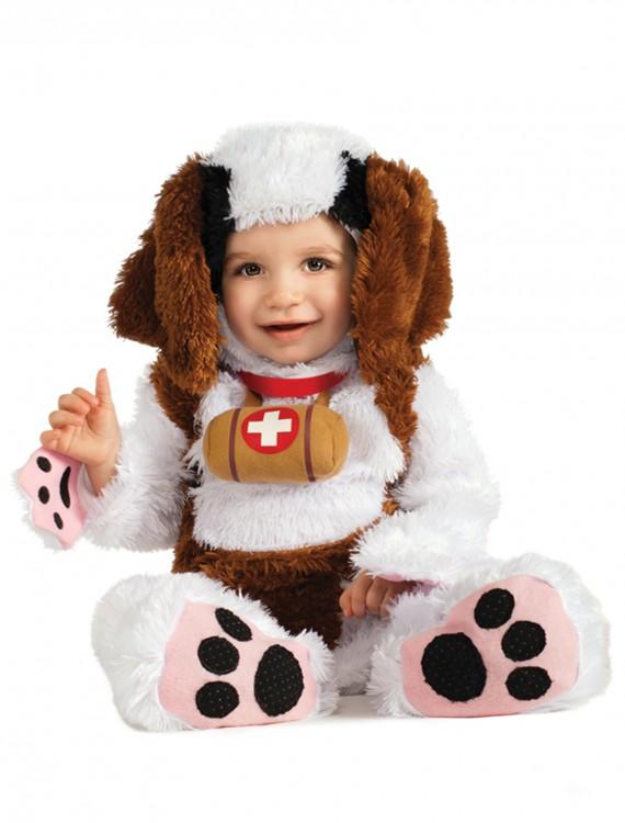 Infant St Bernard Costume, halloween costume (Infant St Bernard Costume)