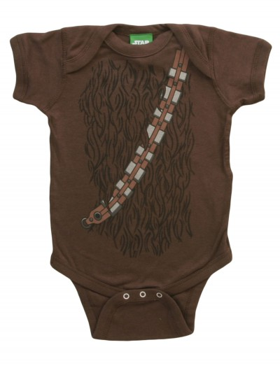 Infant Star Wars I am Chewbacca Costume Tee, halloween costume (Infant Star Wars I am Chewbacca Costume Tee)