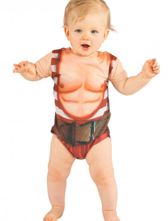 Infant Strongman Costume TShirt, halloween costume (Infant Strongman Costume TShirt)