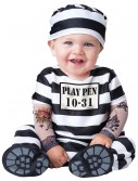 Infant Time Out Prisoner Costume, halloween costume (Infant Time Out Prisoner Costume)