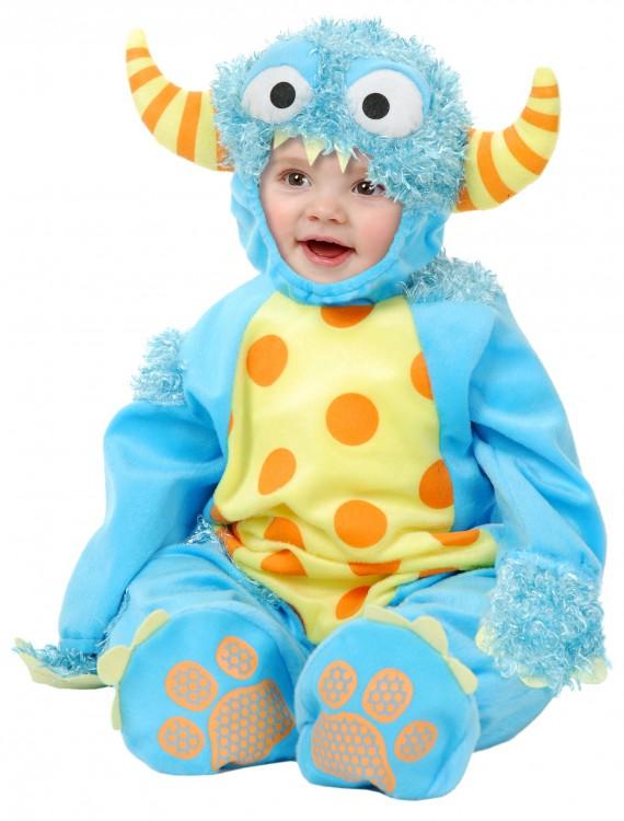 Infant/Toddler Blue Mini Monster Costume, halloween costume (Infant/Toddler Blue Mini Monster Costume)