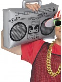 Inflatable Boombox, halloween costume (Inflatable Boombox)