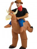 Inflatable Bull Rider Costume, halloween costume (Inflatable Bull Rider Costume)