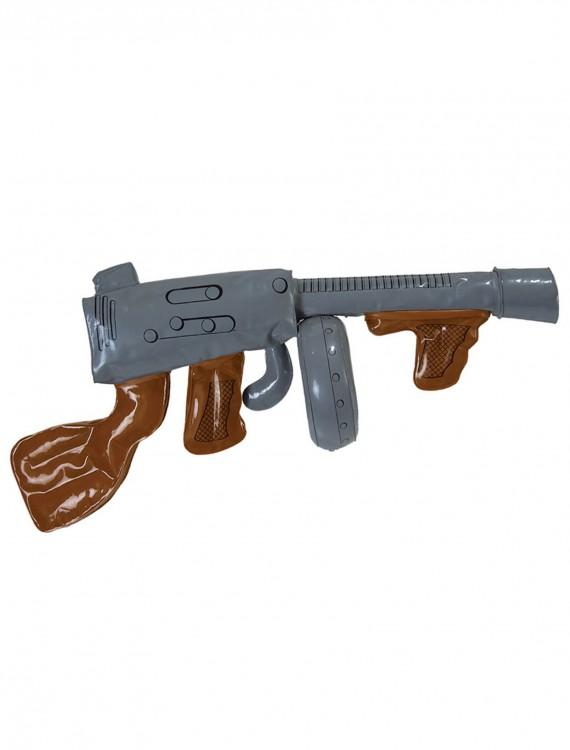 Inflatable Gangster Machine Gun, halloween costume (Inflatable Gangster Machine Gun)