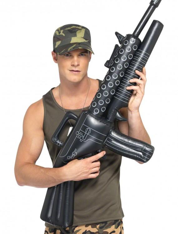 Inflatable Machine Gun, halloween costume (Inflatable Machine Gun)