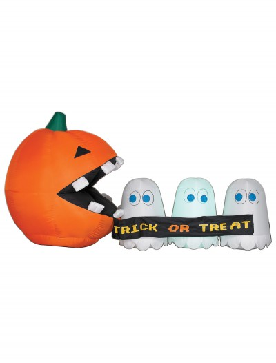 Inflatable Runaway Ghost and Pumpkin, halloween costume (Inflatable Runaway Ghost and Pumpkin)