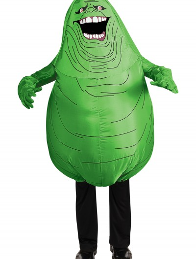 Inflatable Slimer Costume, halloween costume (Inflatable Slimer Costume)