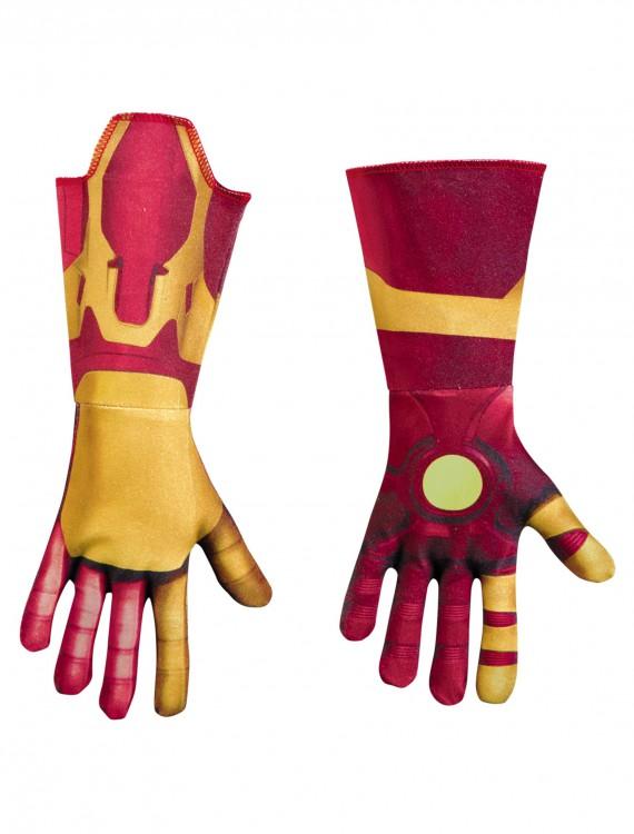 Iron Man Mark 42 Deluxe Child Gloves, halloween costume (Iron Man Mark 42 Deluxe Child Gloves)