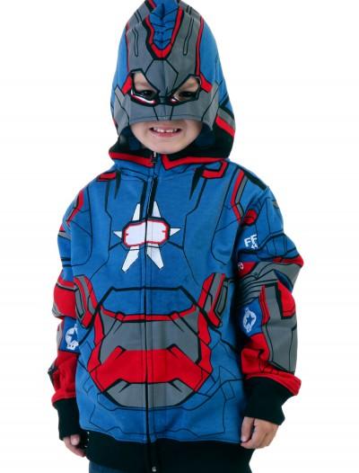 Iron Patriot Hoodie Juvy, halloween costume (Iron Patriot Hoodie Juvy)