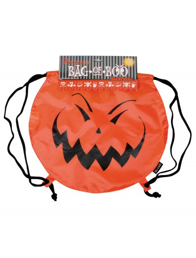 Jack-O-Boo Drawstring Backpack, halloween costume (Jack-O-Boo Drawstring Backpack)