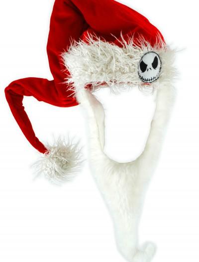 Jack Santa Hat w/ Beard, halloween costume (Jack Santa Hat w/ Beard)