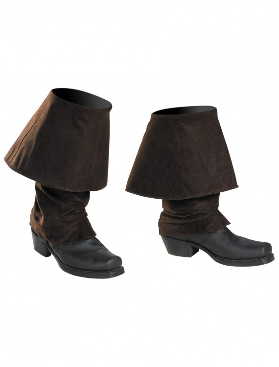 Jack Sparrow Adult Boot Covers, halloween costume (Jack Sparrow Adult Boot Covers)