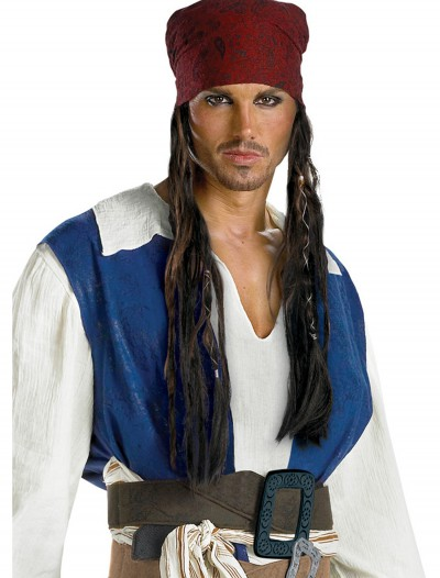 Jack Sparrow Headband Wig, halloween costume (Jack Sparrow Headband Wig)