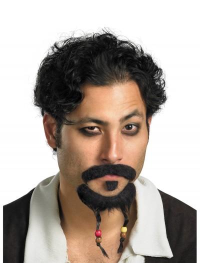 Jack Sparrow Mustache & Goatee, halloween costume (Jack Sparrow Mustache & Goatee)